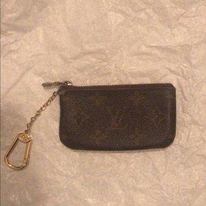 Louis Vuitton Monogram Key/Change Pouch